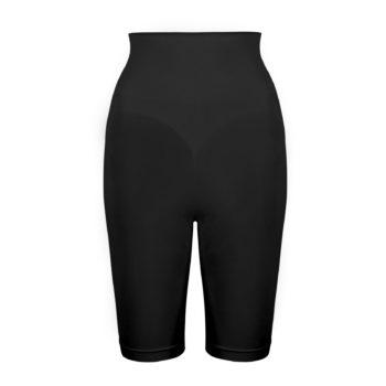 pantaloncino modellante vita alta nero