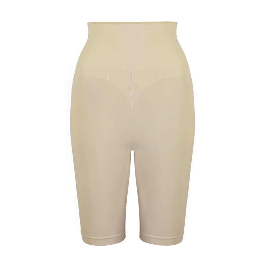 pantaloncino modellante vita alta nude