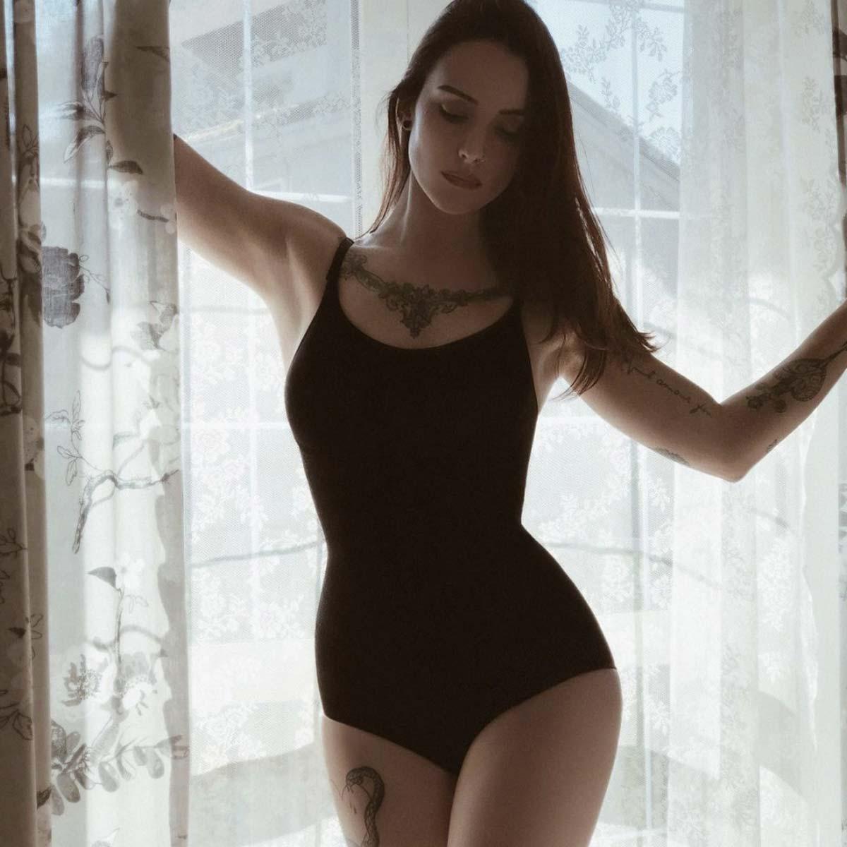 Body modellante contenitivo - Nero